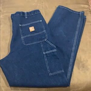 Men's Carhartt Dungaree Fit Jeans Pants 36x34 36R
